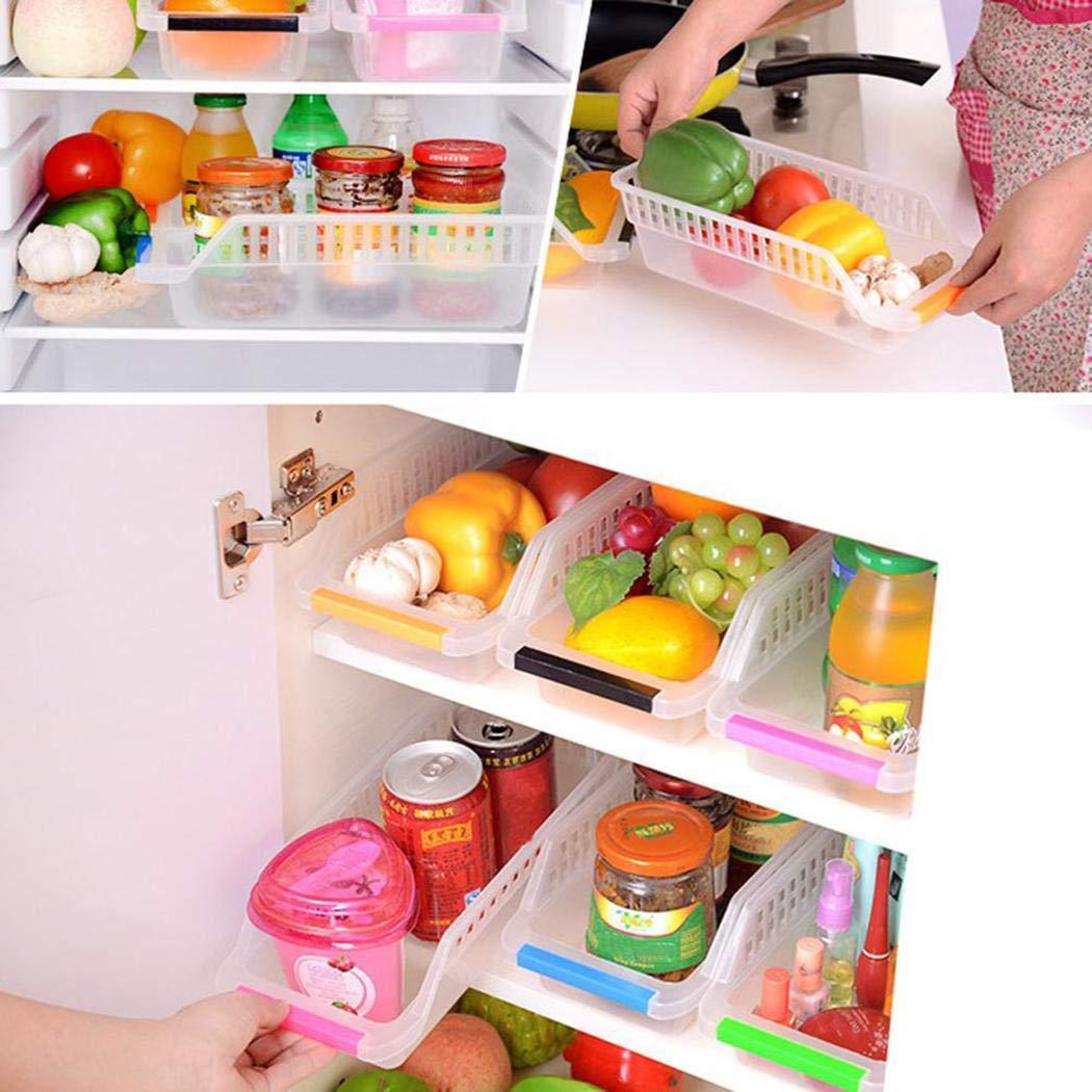 80% off Lagerung Kühlschrank, cietact 6 Stücke Kunststoff Aufbewahrungsboxen Container