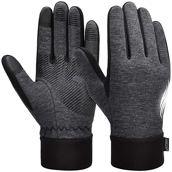 VBIGER Handschuhe Herren Winterhandschuhe Damen Winter Warme Fleece Innenfutter Touchscreen Handschuhe