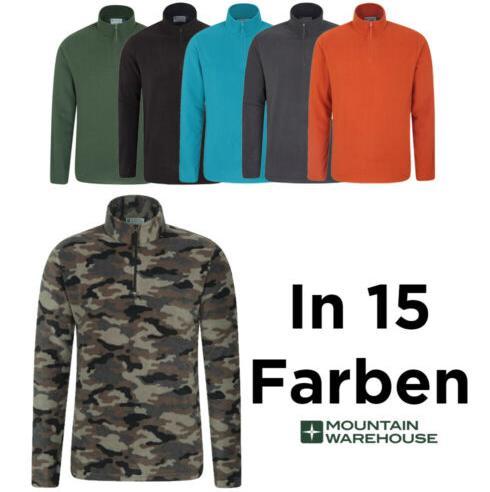 Mountain Warehouse Herren Camber Fleece Pullover