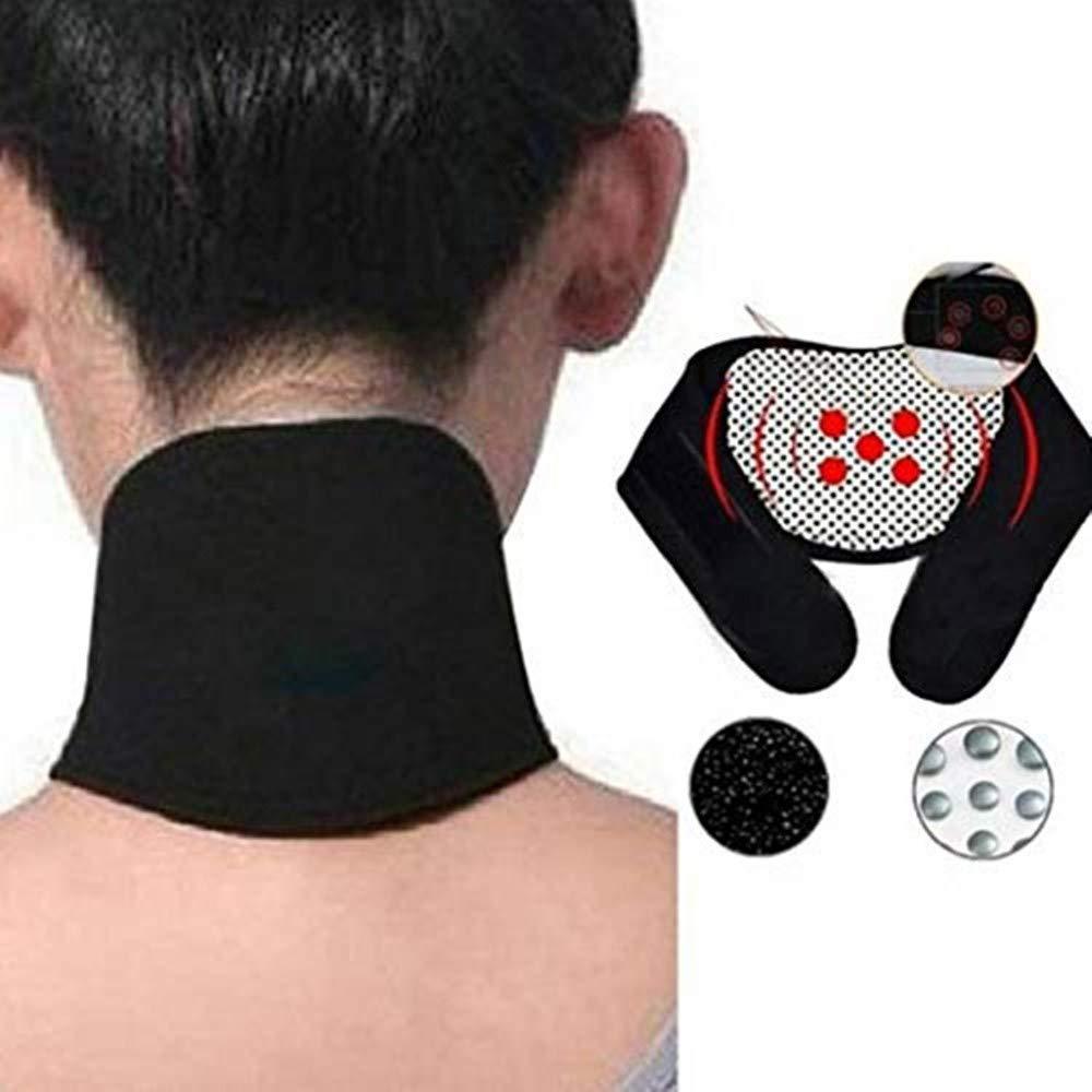 80% off Nackenschmerzlinderung Selbstschutz Halswirbel Nackenstütze Selbstheizender Nackenschutzgurt