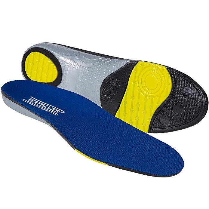 IceUnicorn Komfort Einlegesohlen Sport Schuheinlagen Work Innensohle Ferse U Förmiges design Geeignet für Herren Dame