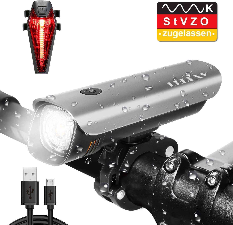 LEBEXY Fahrradlicht LED Fahrradbeleuchtung