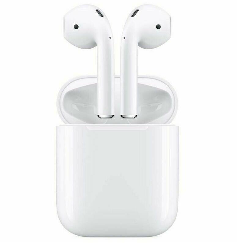 Apple AirPods 2. Generation mit kabelgebundenen Ladecase, Bluetooth, MV7N2ZM/A
