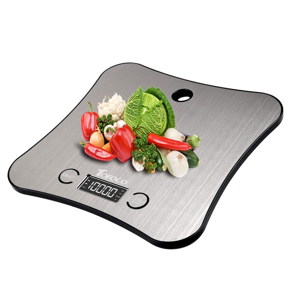 TOFOCO Digitale Küchenwaage Waage Backen Food Scale