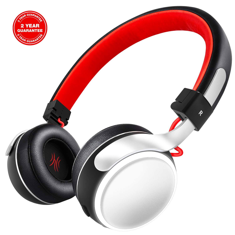 OneAudio Bluetooth Kopfhörer On Ear Kabellos Headset