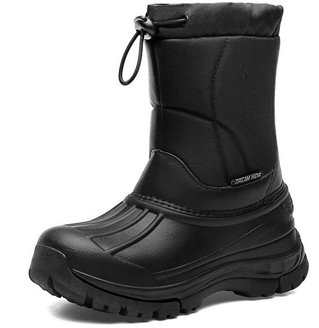 EAST LANDER Kleinkind Schneeschuhe Jungen & Mädchen Leichtgewichtig Wasserdicht Kaltes Wetter Winter Outdoor-Schuhe