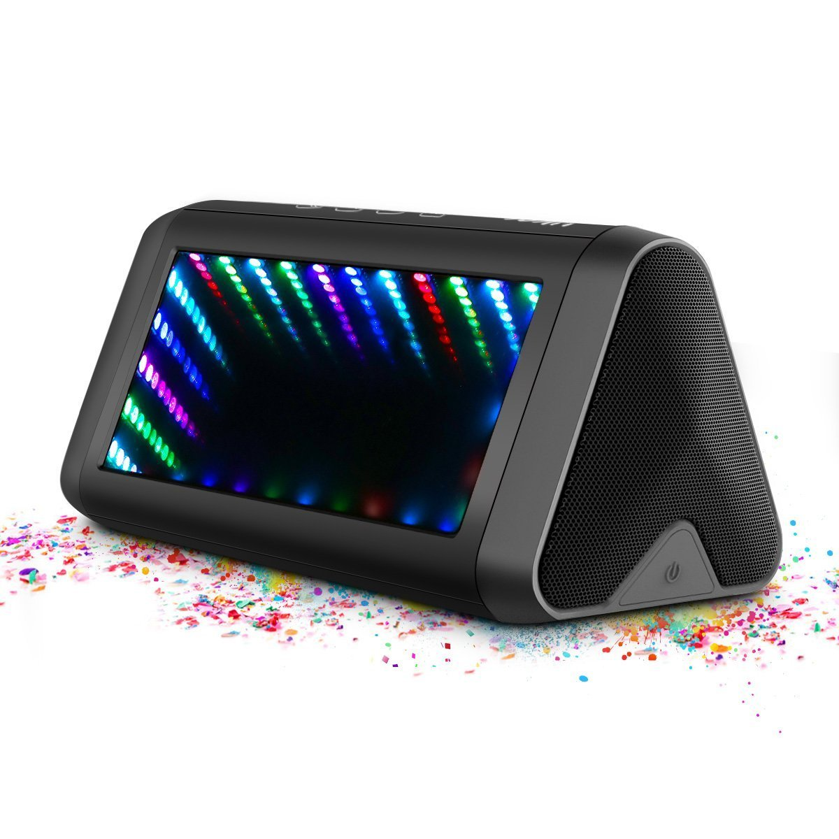 Bluetooth Lautsprecher, ELEGIANT 20W Wireless 4.0 Lautsprecher LED Stereo Boombox Kabellos Boxen tragbarer wasserdichter