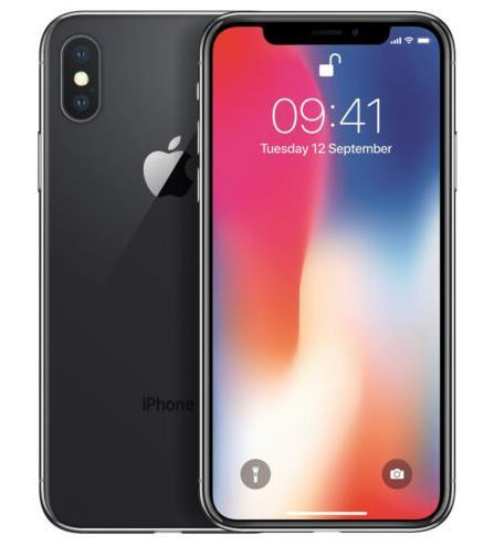 APPLE IPHONE X 256GB SPACEGRAU, SILBER – OHNE SIMLOCK – SMARTPHONE – WOW