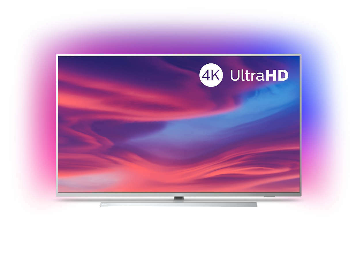 Philips 3-seitig Ambilight 55PUS7304/12 Fernseher 139 cm (55 Zoll) Smart TV