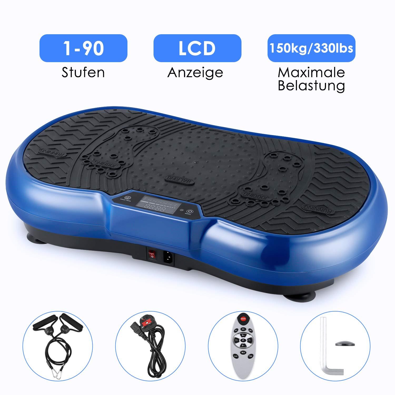 EVOLAND 3D Vibrationsplattform, Trainingsgerät mit Bluetooth-Lautsprechertraining
