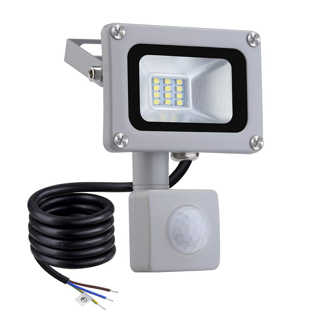 Sararoom 10W LED Floodlight LED Spotlight Outdoor 5000K-6500K