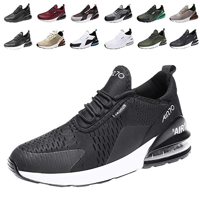 populalar Laufschuhe Herren Damen Turnschuhe Sportschuhe Straßenlaufschuhe Sneaker Atmungsaktiv Trainer