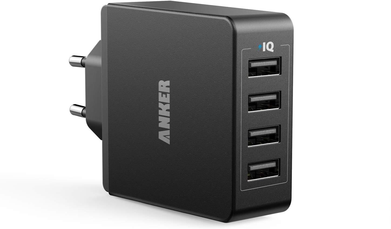 Anker 36W 5V / 7.2A 4 Port USB Ladegerät zum Bestpreis