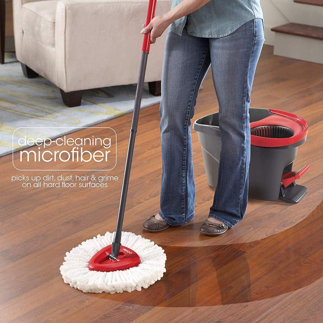 80% off Home Haushalt Weiß Easy Wring Spin Mop Refill Reinigungswerkzeuge