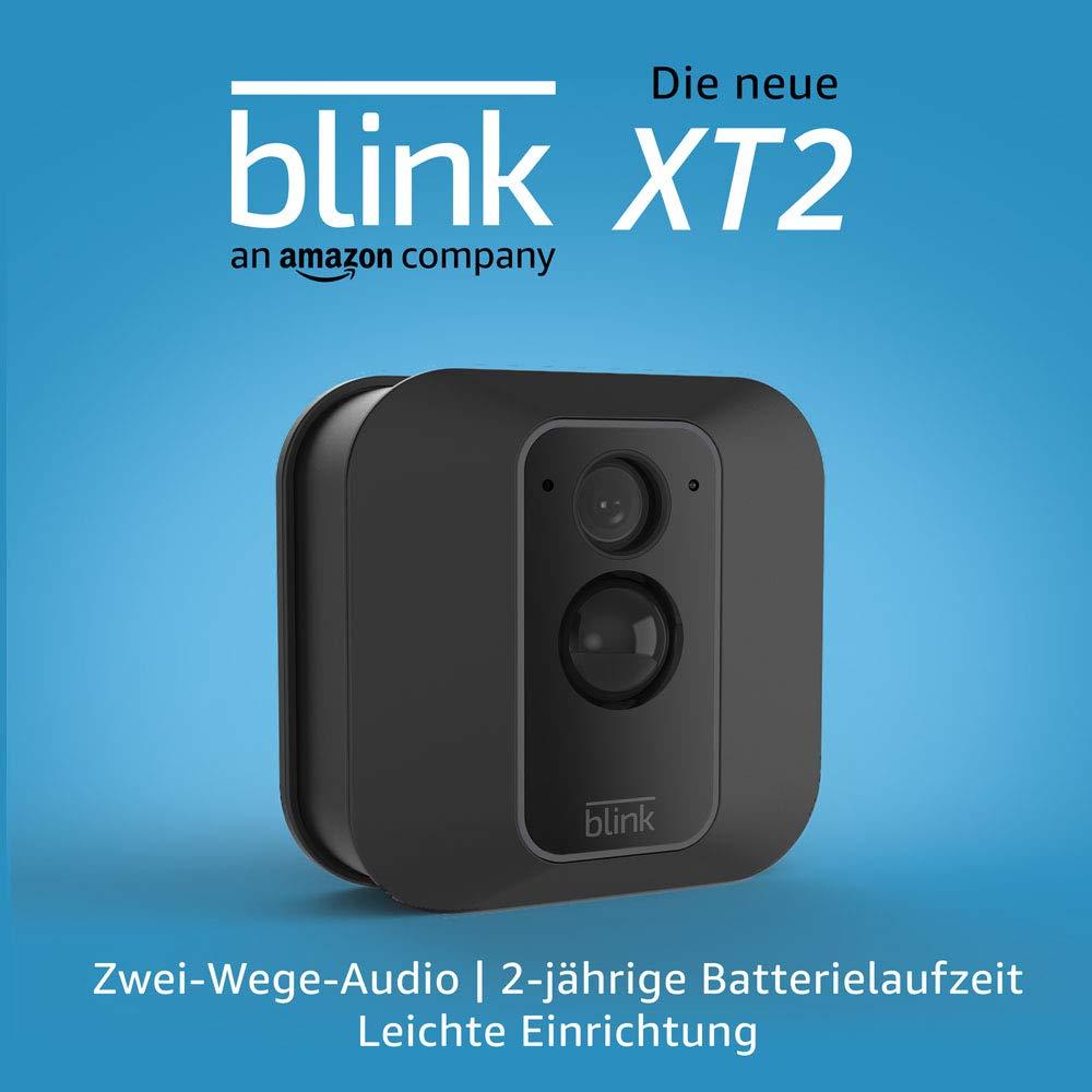 Blink XT2 – Smarte Sicherheitskamera | Für den Außen- und Innenbereich