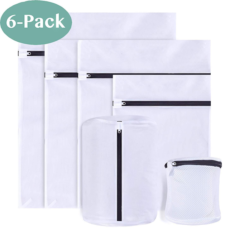 PaiTree 6 Stück Wäschenetz für Waschmaschine sowie Aufbewahrung