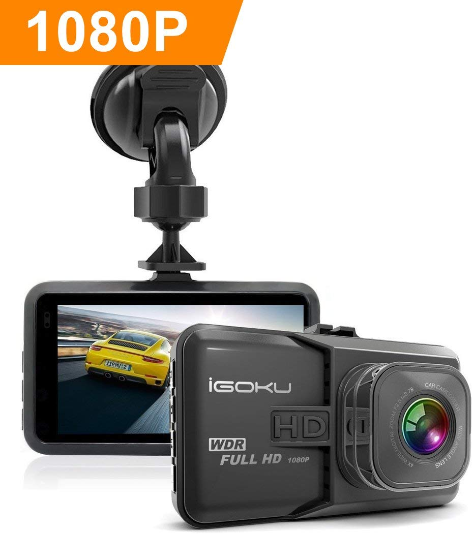 1080P Full HD Dashcam HD AutoKamera