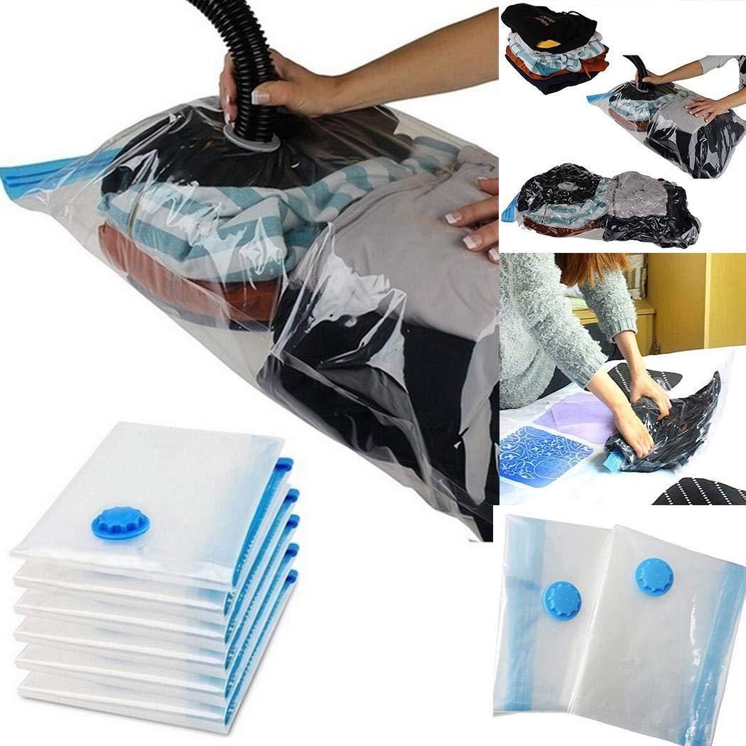 80% off Space Saver Saving Aufbewahrungsbeutel Vacuum Seal Compressed Organizer Bag Kleidersäcke
