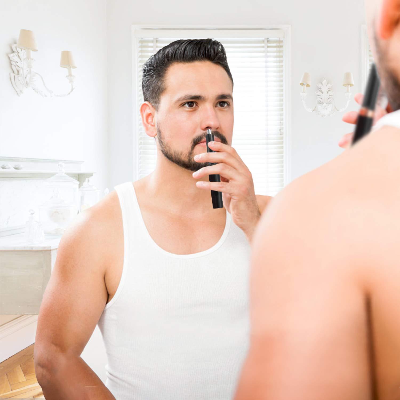 Nasenhaarschneider,PLYRFOCE Nasenhaartrimmer Herren und Frauen