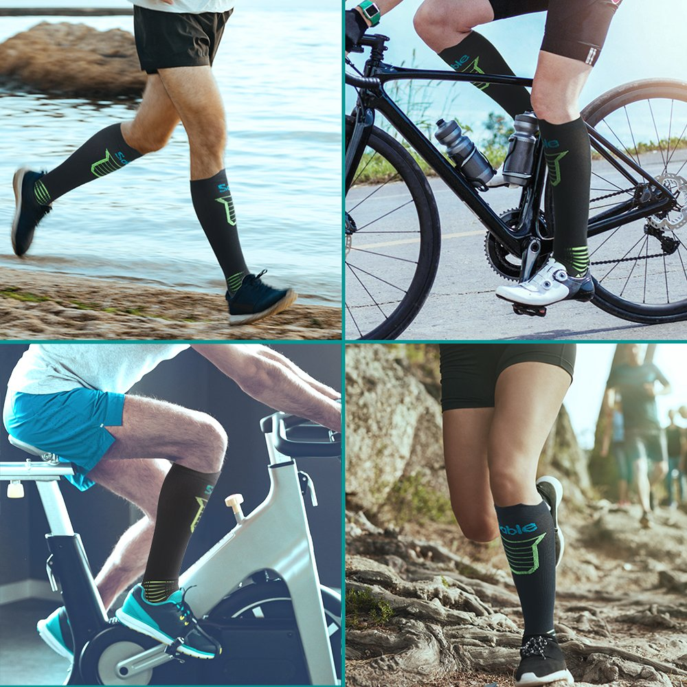 Sable Kompressionsstrümpfe, Laufsocken Wandern Socken