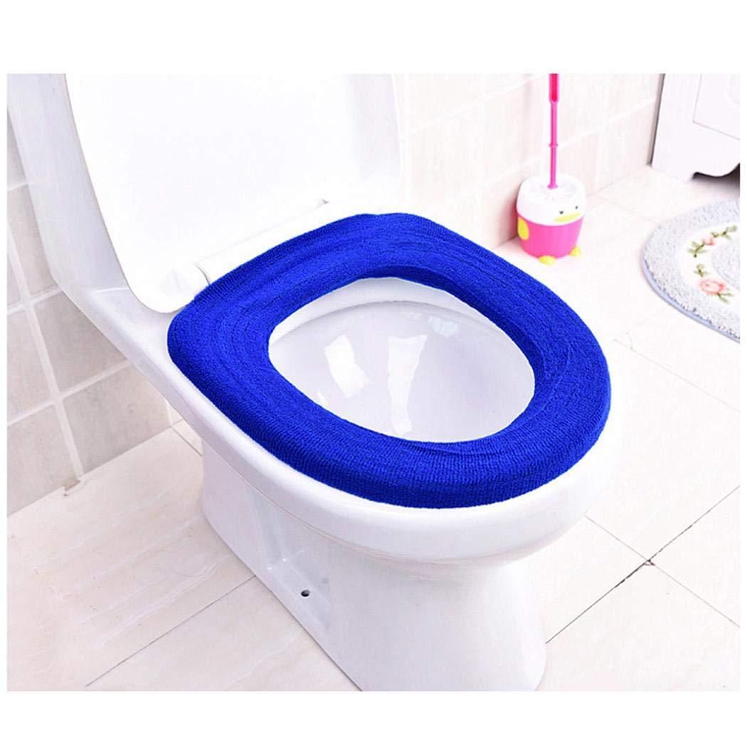 80% off Warme Bequeme samt Toilettensitzbezug Kissen Pad Bad Produkte Aufkleber für Toilettendeckel