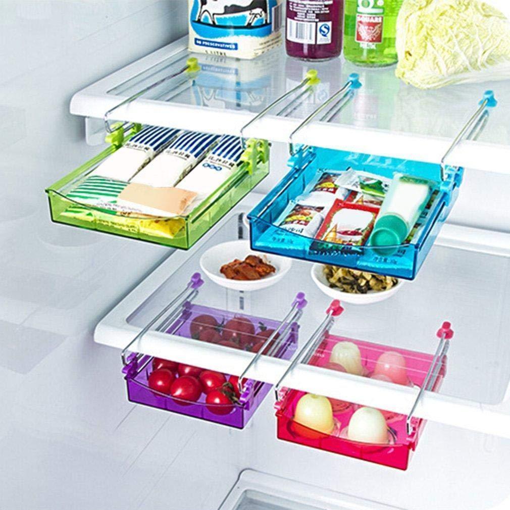 80% off Home Kitchen Kühlschrank Keep Fresh Schiebeschublade Aufbewahrungsbox Räucherstäbchenhalter