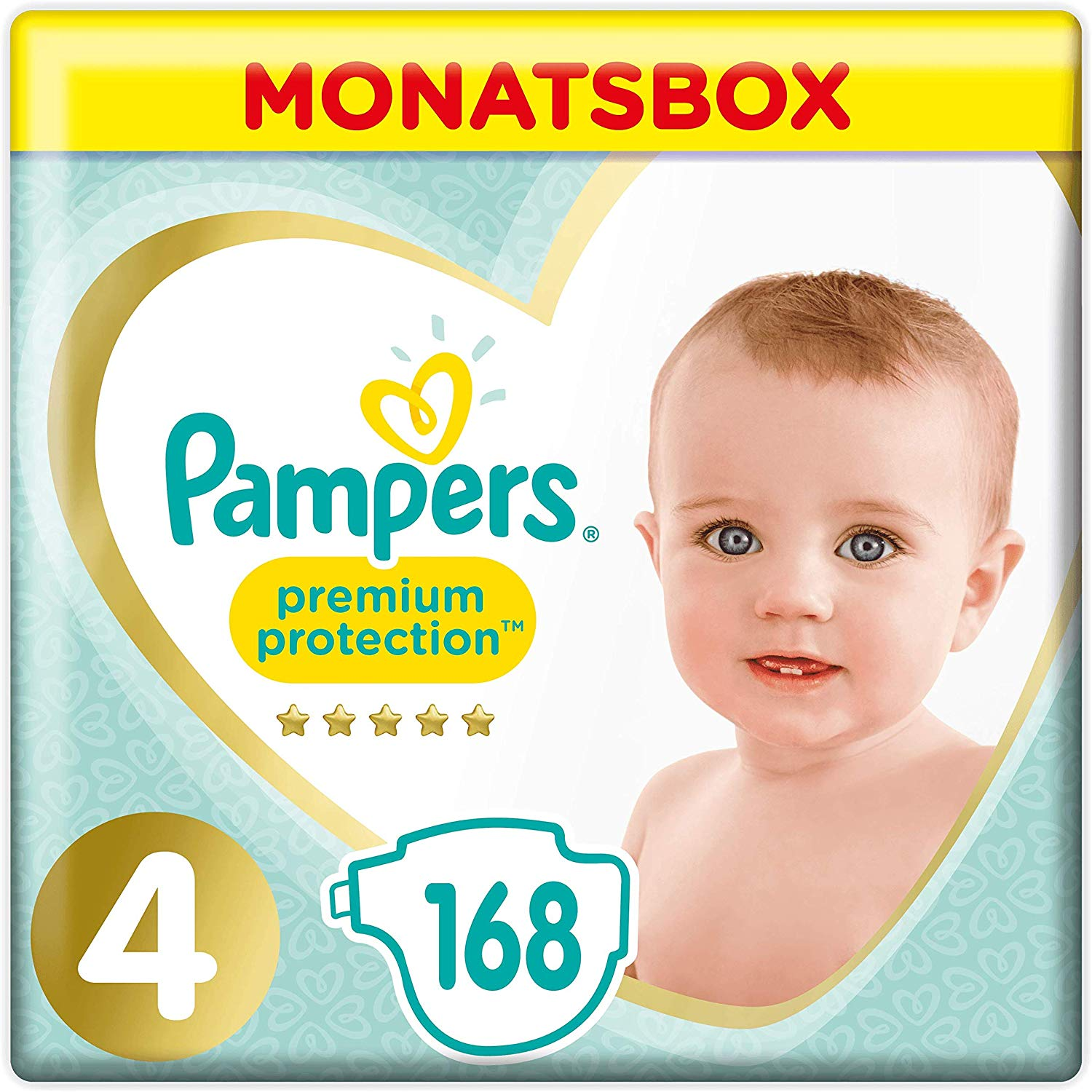 Pampers Baby Dry Oder Premium Protection