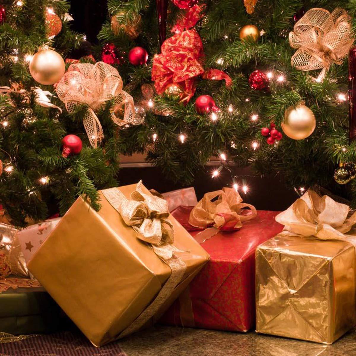 Aitsite Weihnachtskugeln 4 cm Weihnachtsbaum Kugeln Christbaumkugeln Flitter