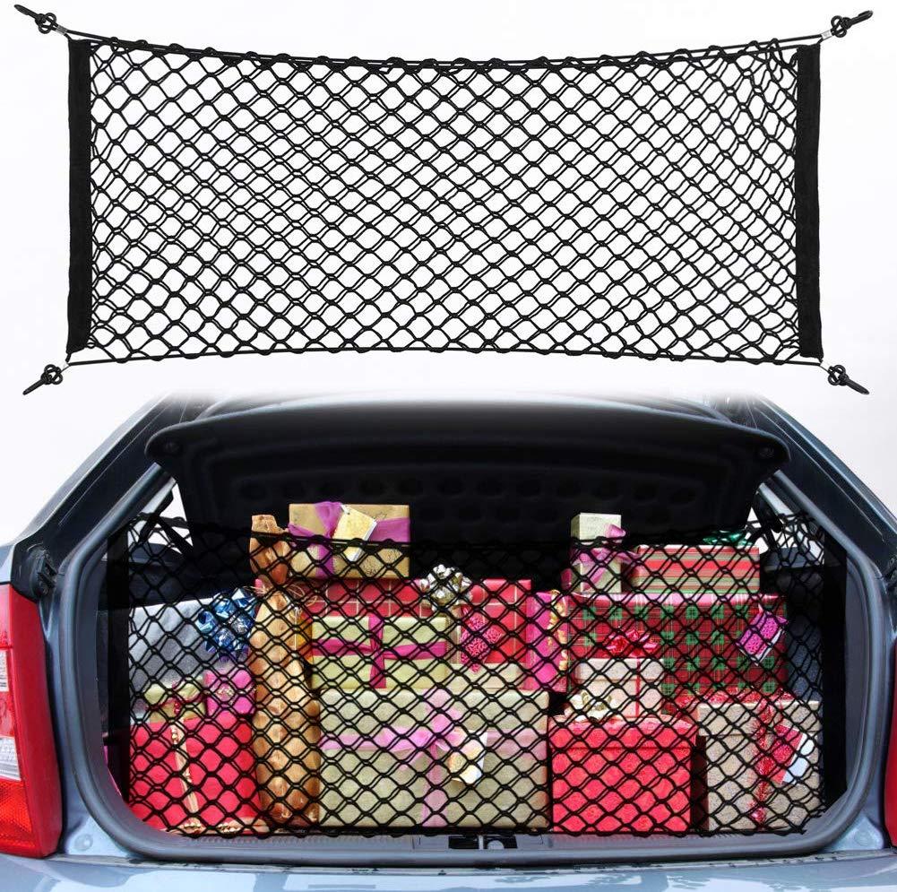 Haofy Kofferraum Netztasche Auto Gepäcknetz 100×40 cm