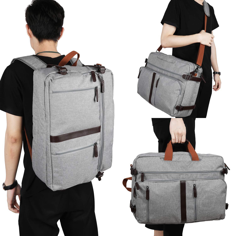 Gemeer umwandelbar Rucksack Umhängetasche Handtasche Laptoptasche