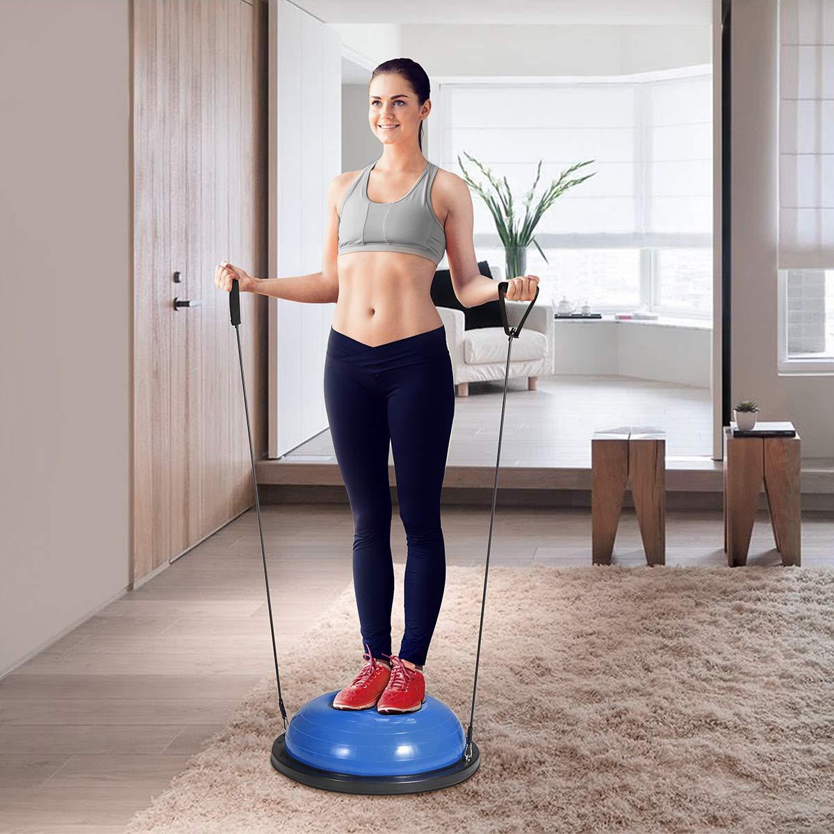 KUOKEL – Balance Ball Balance Trainer mit Zugbändern