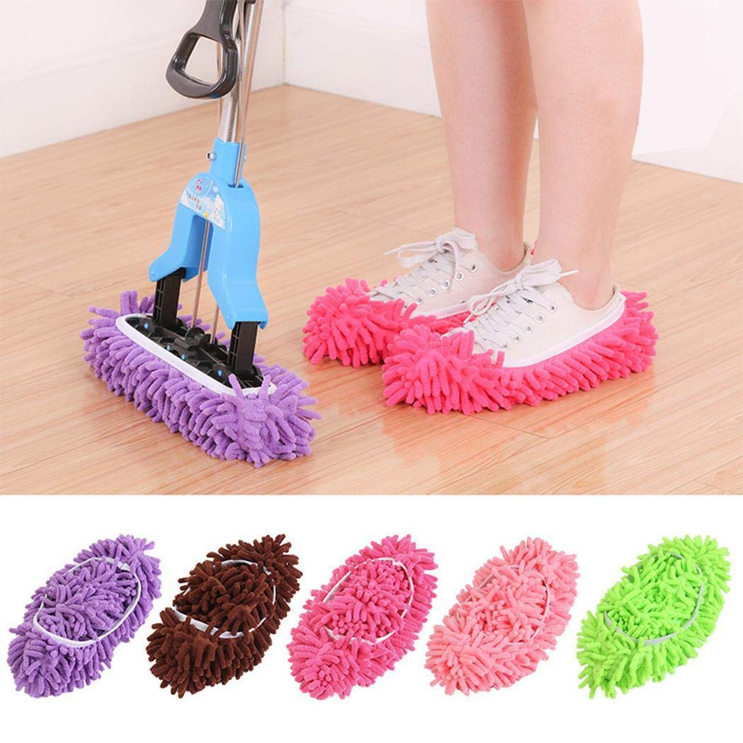 80% off Creative Superfine Fiber Faule Reinigungstuch Wischboden Schuhüberzug Reinigungs- & Putztücher