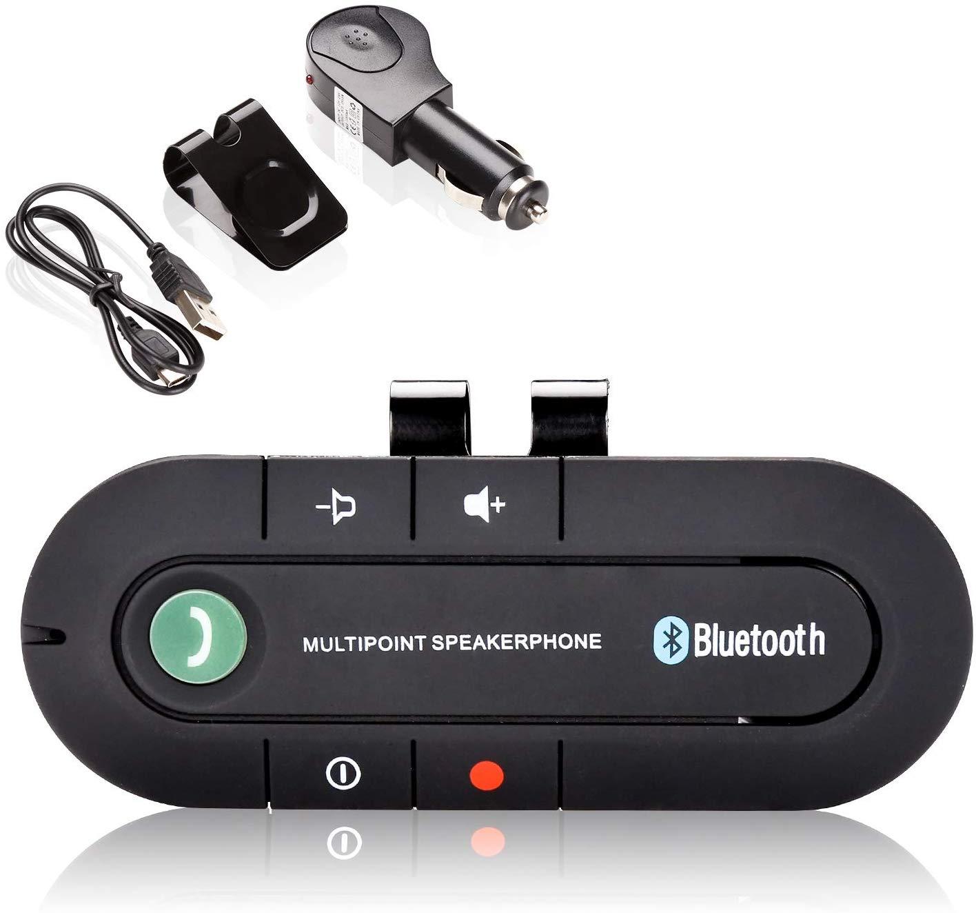 Hengda Freisprechanlage Kfz Bluetooth V4.2 Freisprecheinrichtung