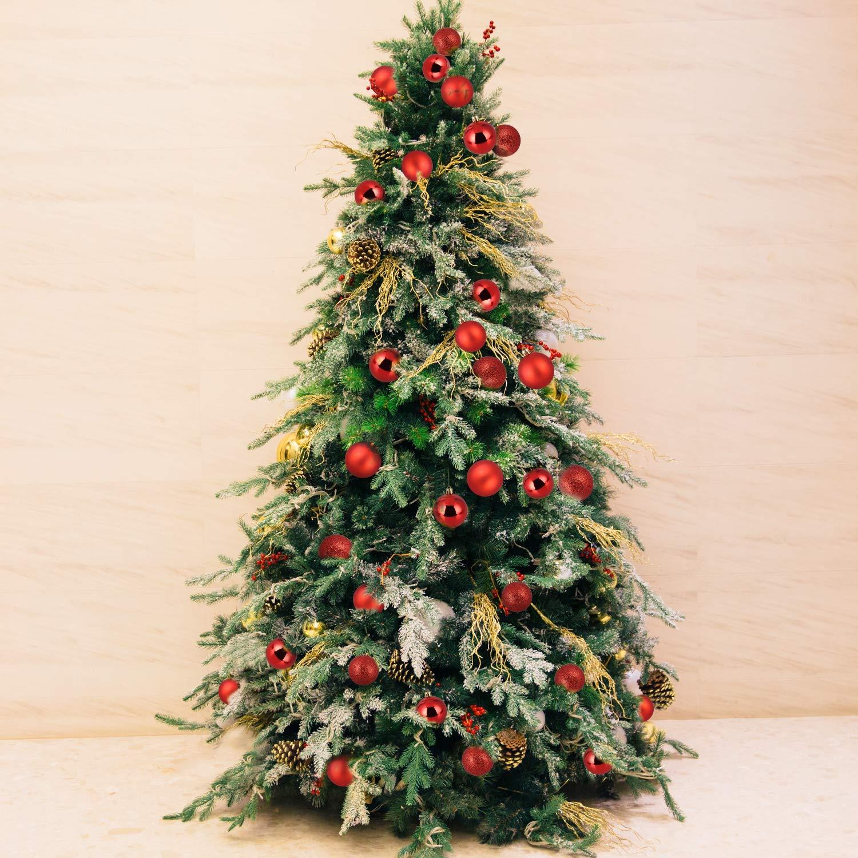 Baumkugeln 24 Stück 4cm Christbaumkugeln Weihnachtskugeln