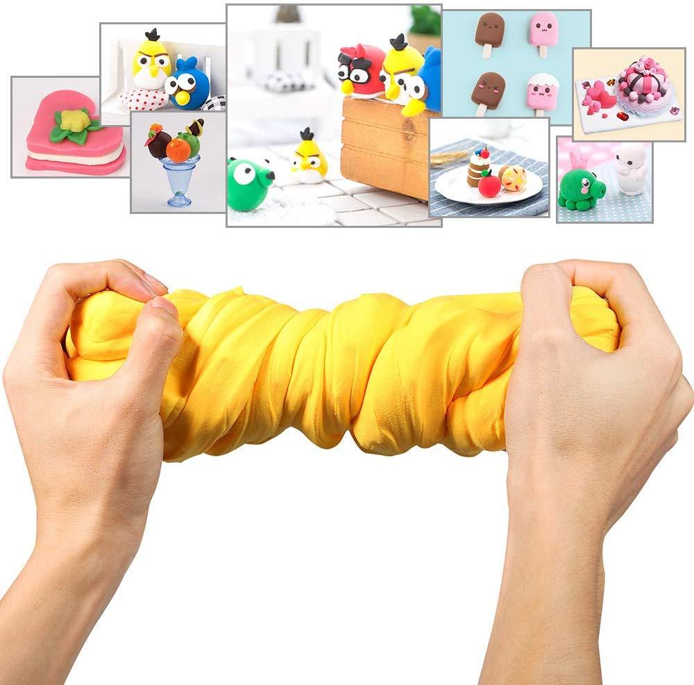 Luclay DIY Fluffy Schleim Kinder Putty Spielzeug Geschenke Slime Stress Relief Toy