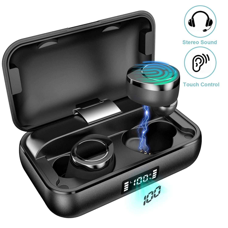 Bluetooth Kabellose Ohrhörer True Wireless In Ear Kopfhörer mit Hi-Fi HD Stereo Sound