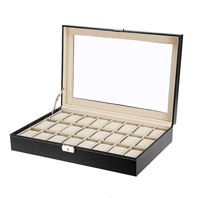 Uten Uhrenkasten Herren Uhrenbox Damen Uhrenkoffer