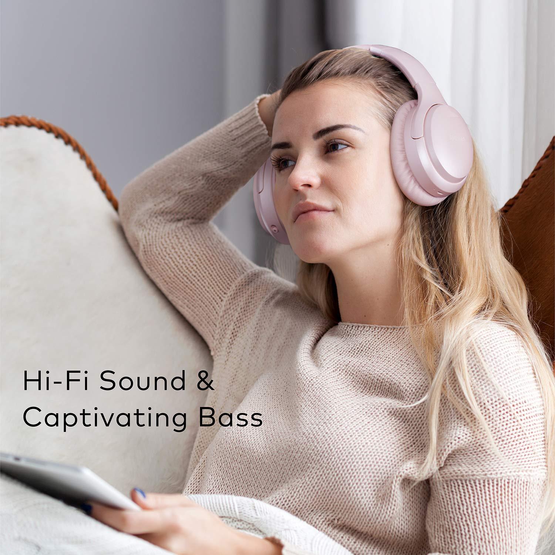 Boltune Kabellos Active Noise Cancelling Bluetooth Kopfhörer mit 30 Std Spielzeit