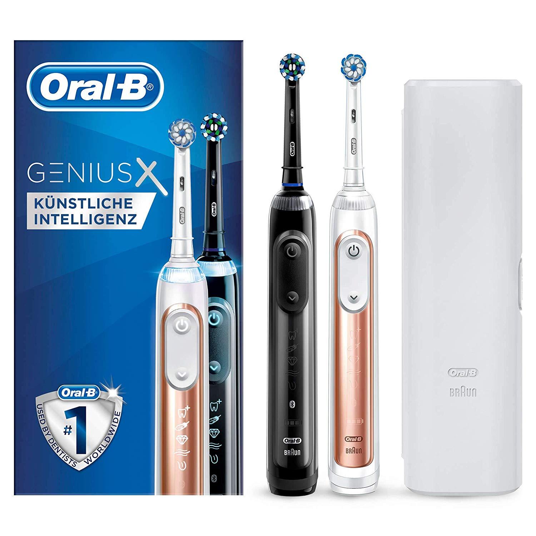 Oral-B Genius X 20900 Elektrische Zahnbürste, mit künstlicher Intelligenz
