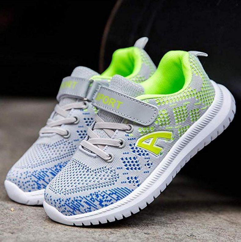 Unpowlink Kinder Schuhe Sportschuhe Ultraleicht Atmungsaktiv Turnschuhe