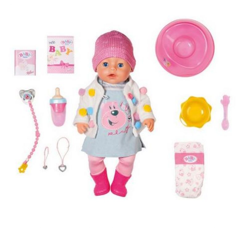 Zapf Creation – BABY born Soft Touch Candy Girl