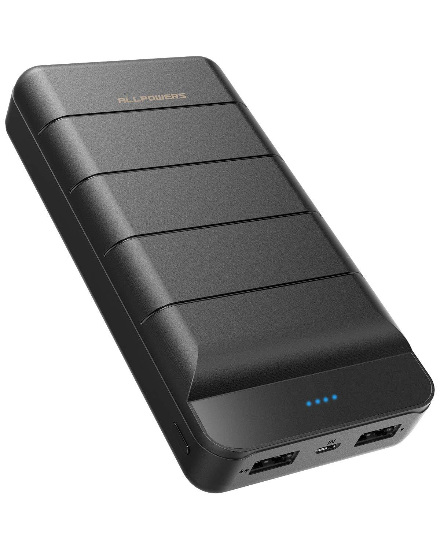 ALLPOWERS Powerbank 25000mAh Externer Akku Portable Handy Ladegerät