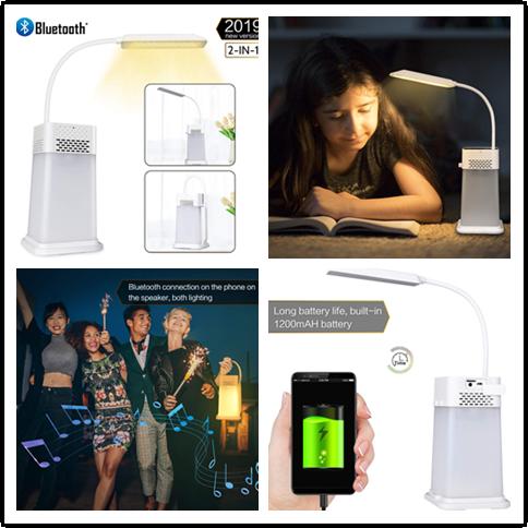 🎁🎁Gewinnspiel🎁🎁 — 2-in-1 Bluetooth-Nachtlicht Drahtloser Lautsprecher
