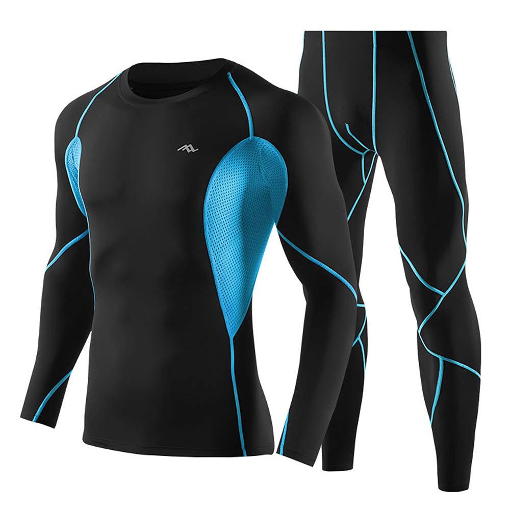 Lixada Fitness Bekleidung Herren Sportbekleidung Trainingsanzug 2 PC