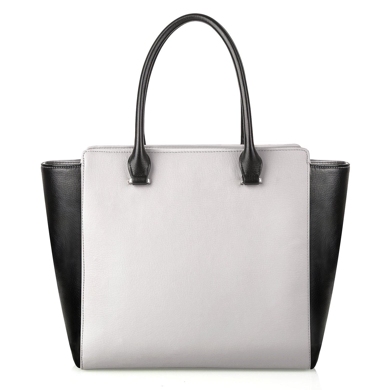 PRASACCO Handtaschen Damen Umhängetasche Henkeltasche Schulter Taschen