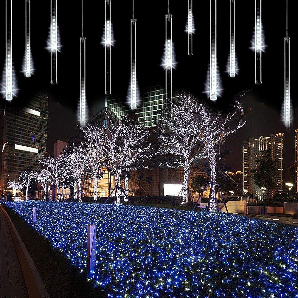 AveyLum LED Lichterketten Meteorschauer Regen Lichter