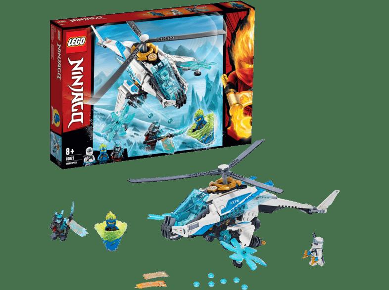 LEGO ShuriCopter Bausatz, Mehrfarbig