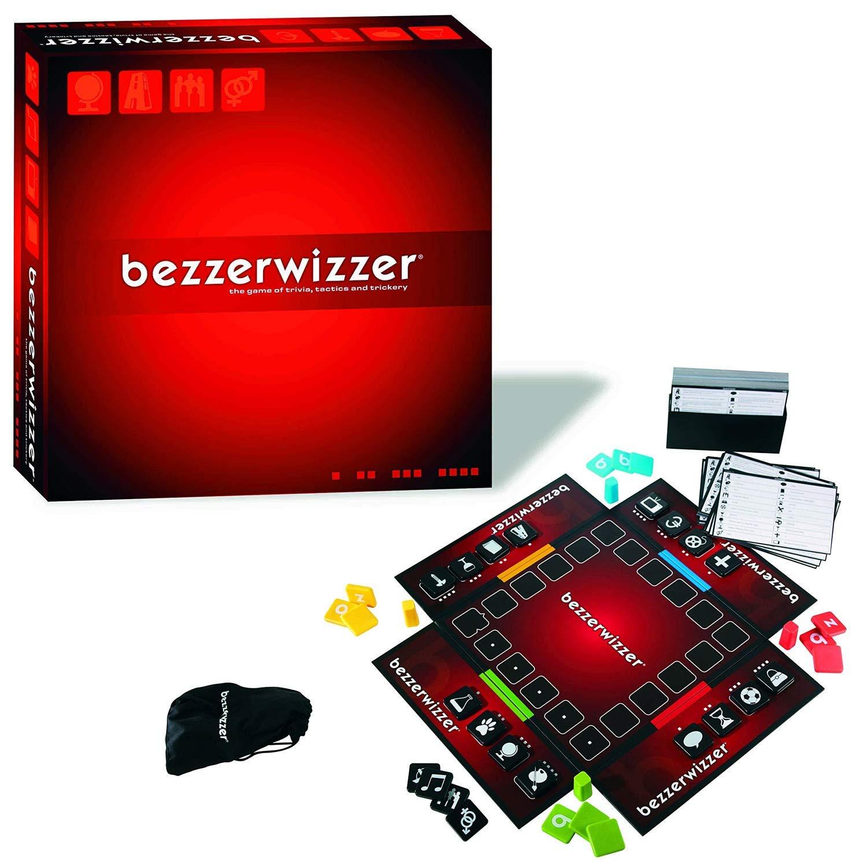Mattel Games V9913 – Bezzerwizzer Wissensspiel und Quiz Familienspiel geeignet