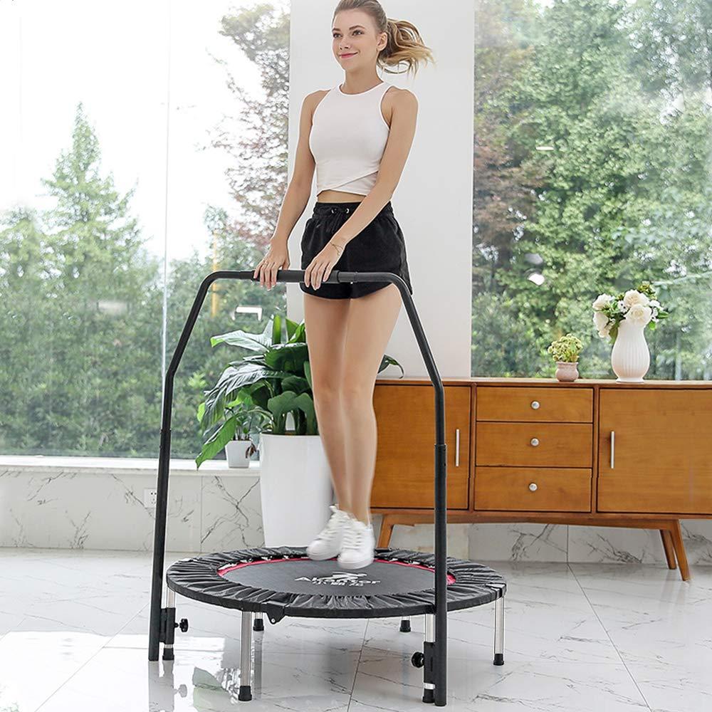 soges Gym Trampoline Rebounder Fitness Trampolin für Erwachsene