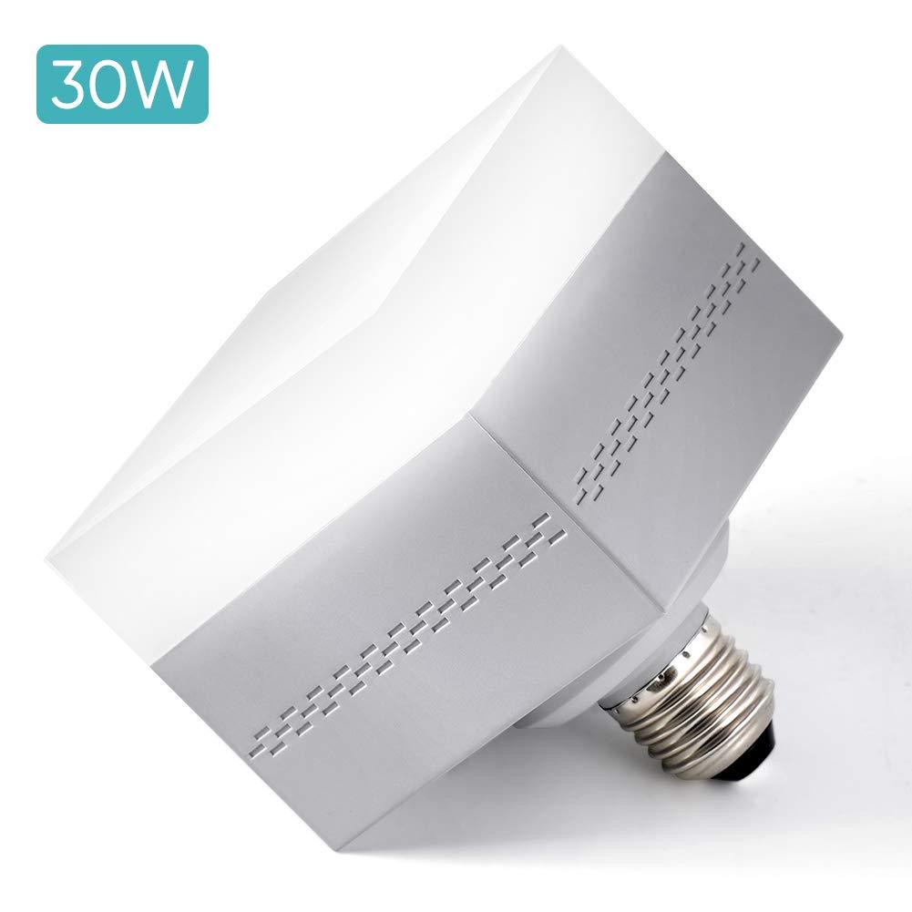LED Lampe E27/30W kaltweiß Garagenleuchte Glühbirnen